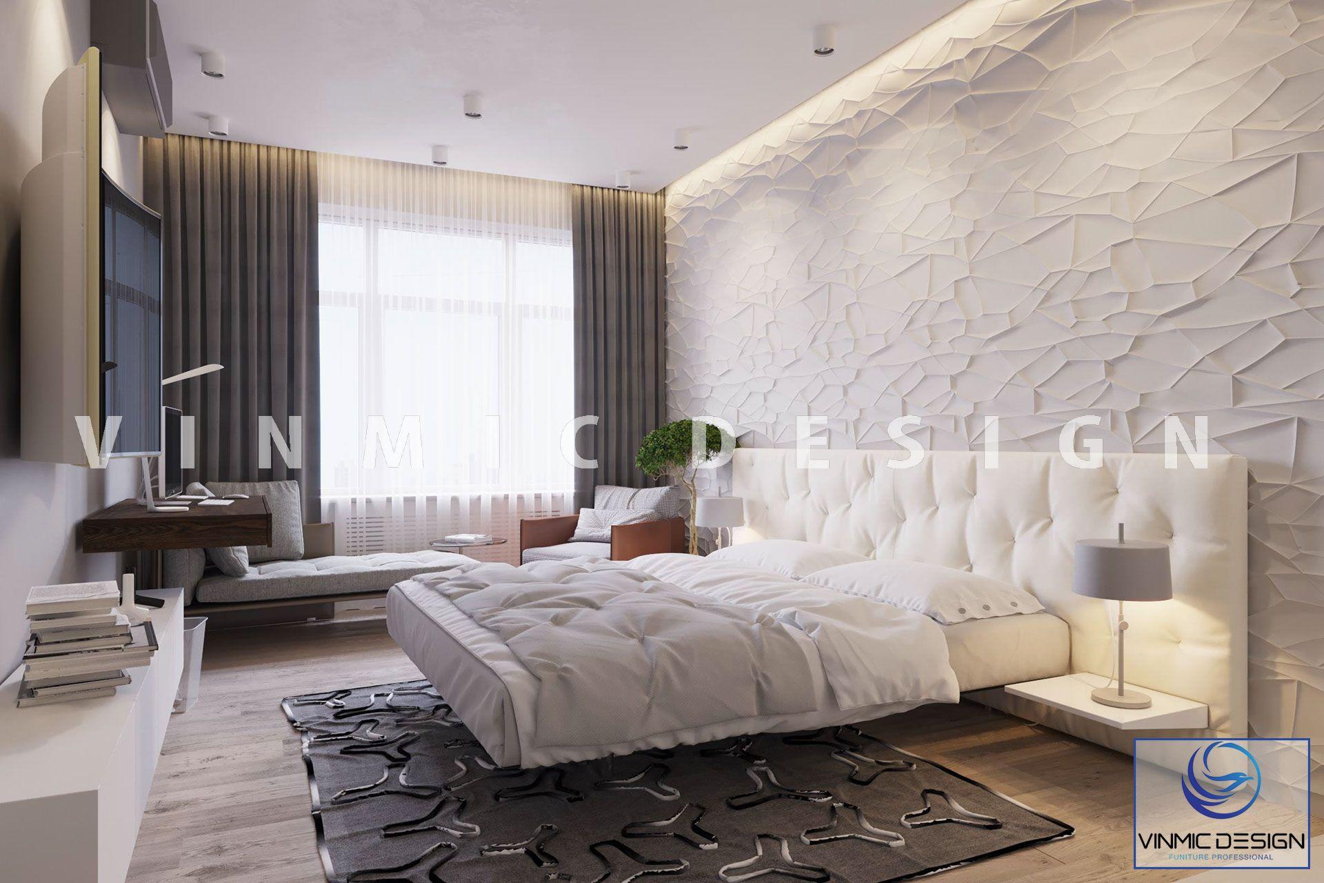 Thiết kế nội thất phòng ngủ sáng tạo, đầy nghệ thuật