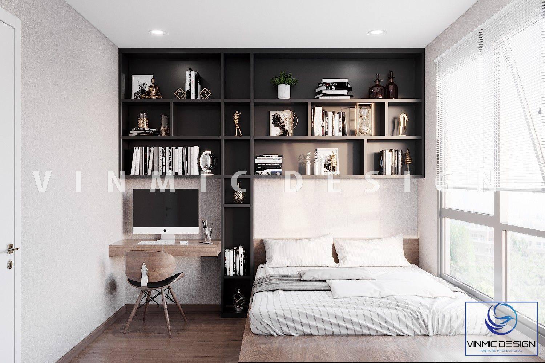 Thiết kế nội thất phòng ngủ sử dụng tối đa ánh sáng tự nhiên