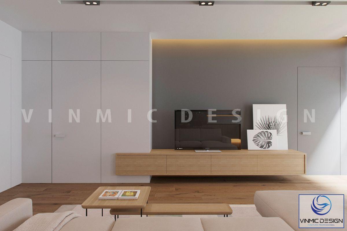 Thiết kế tủ áo phòng khách đơn giản