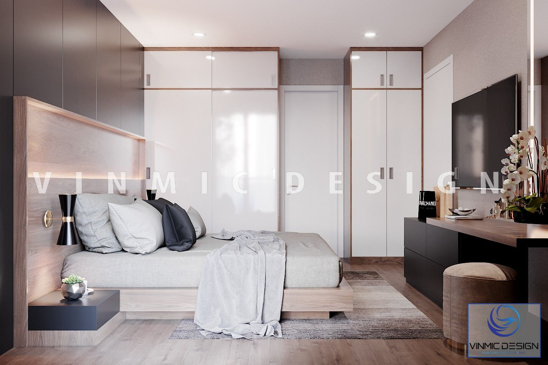 Tủ áo tiện ích trong phòng ngủ
