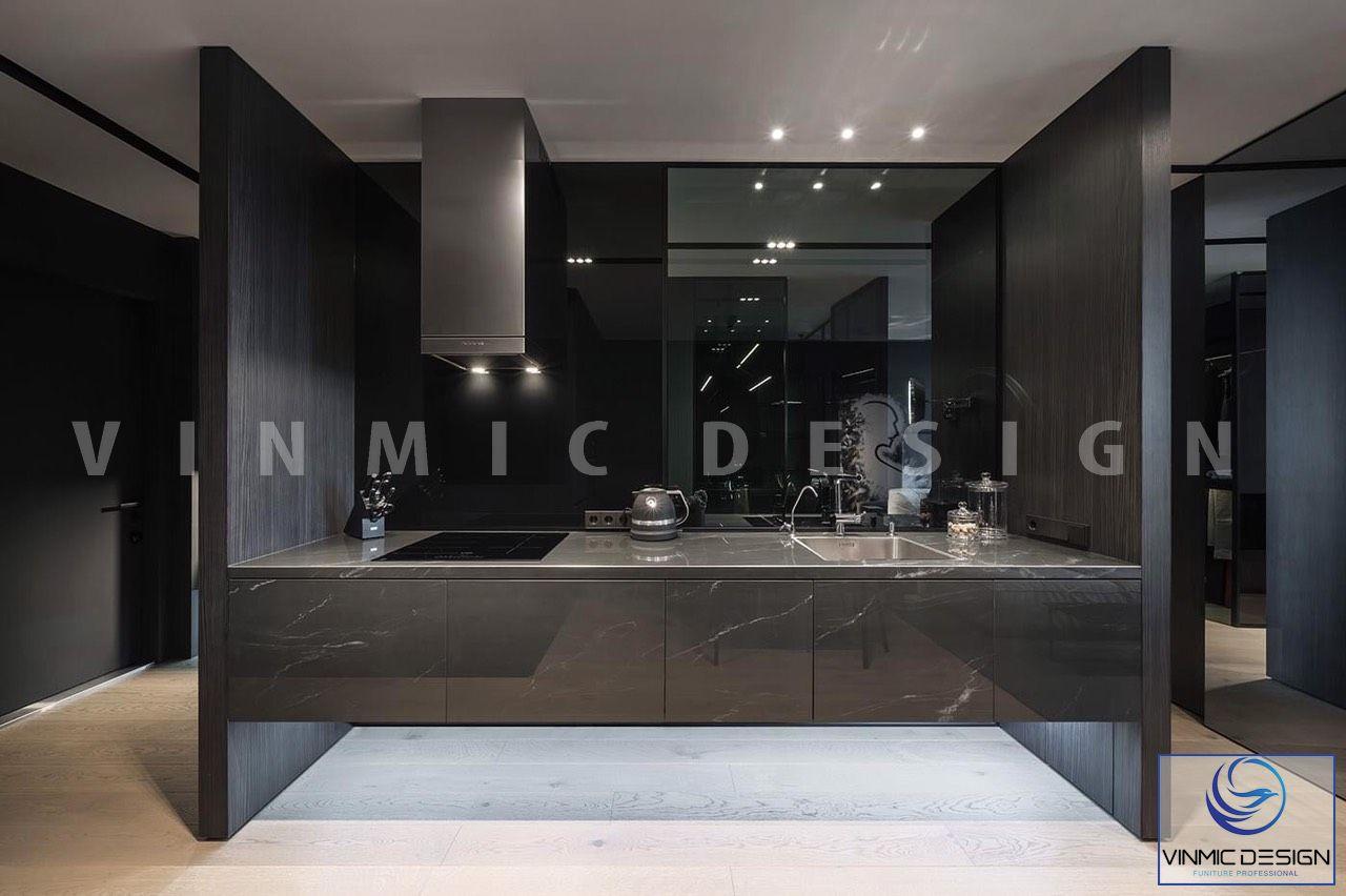 Thiết kế nội thất phòng bếp phong cách hiên-Bắc Âu