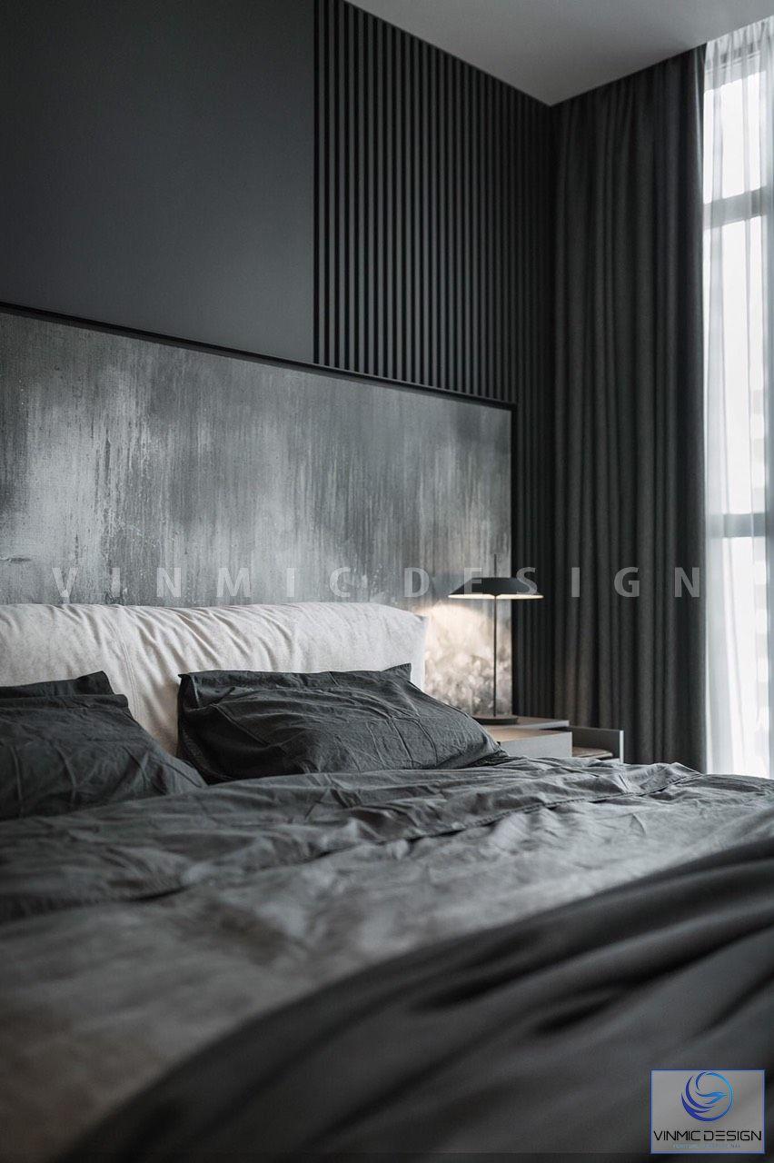 Thiết kế nội thất phòng ngủ với bộ ga chất lượng