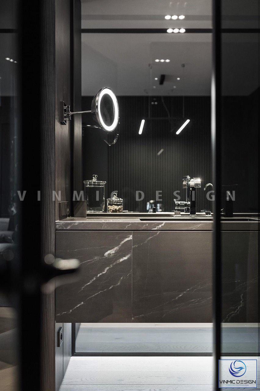 Thiết kế nội thất nhà vệ sinh hiện đại, tiện ích