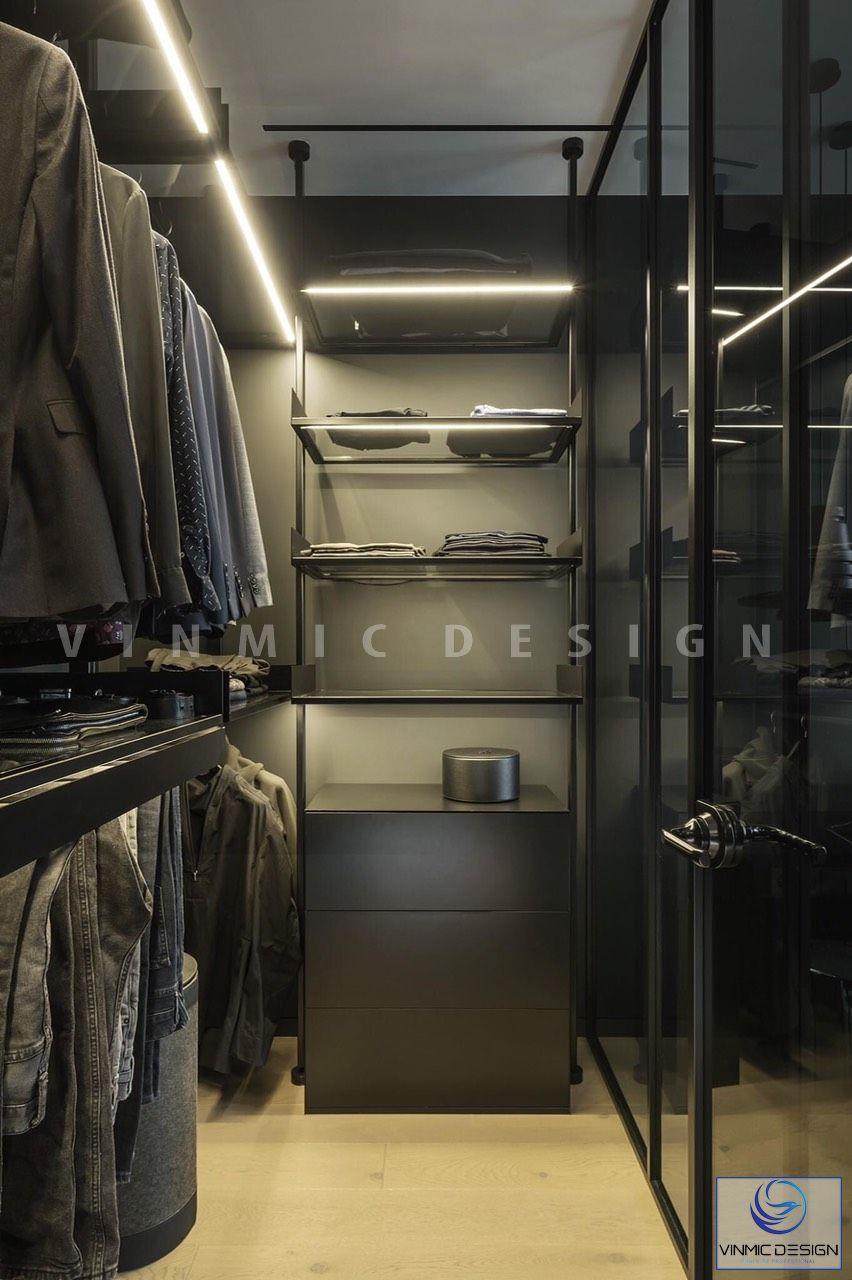 Thiết kế nội thất tủ đồ hiện đại
