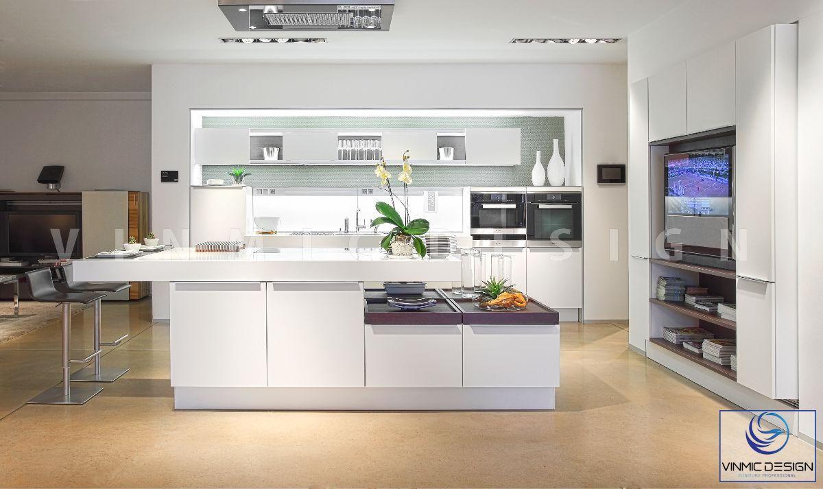 Thiết kế tủ bếp đẳng cấp mang phong cách Bắc Âu