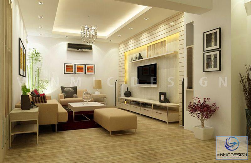 Chất liệu gỗ công nghiệp thường được sử dụng cho thiết kế hiện đại