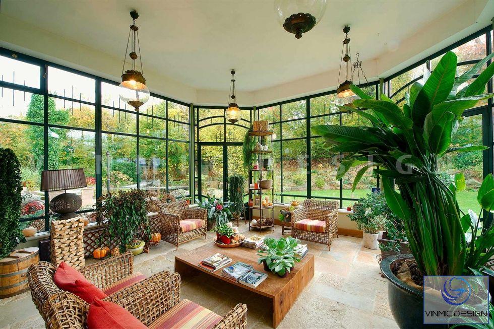 Không gian hiện đại của căn biệt thự nhà vườn