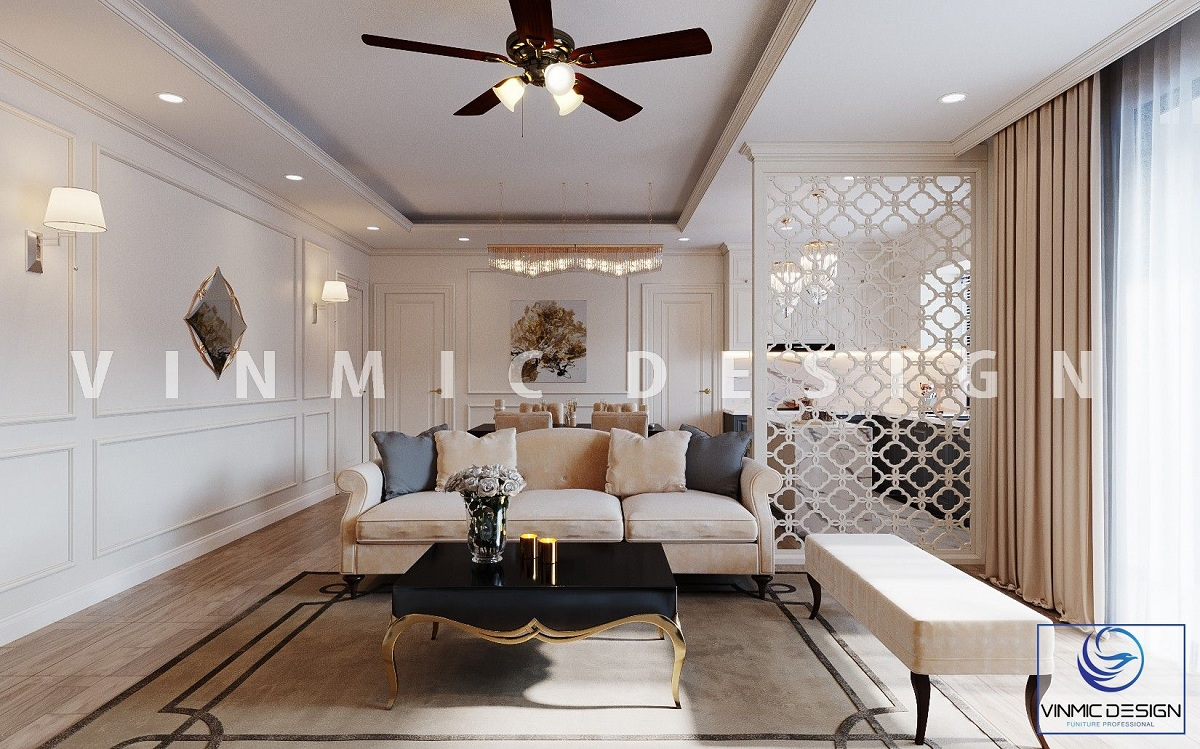 Không gian mở cho thiết kế phòng khách