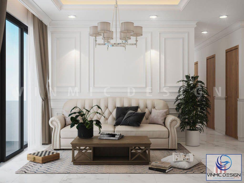 Phòng khách ấn tượng với bộ sofa