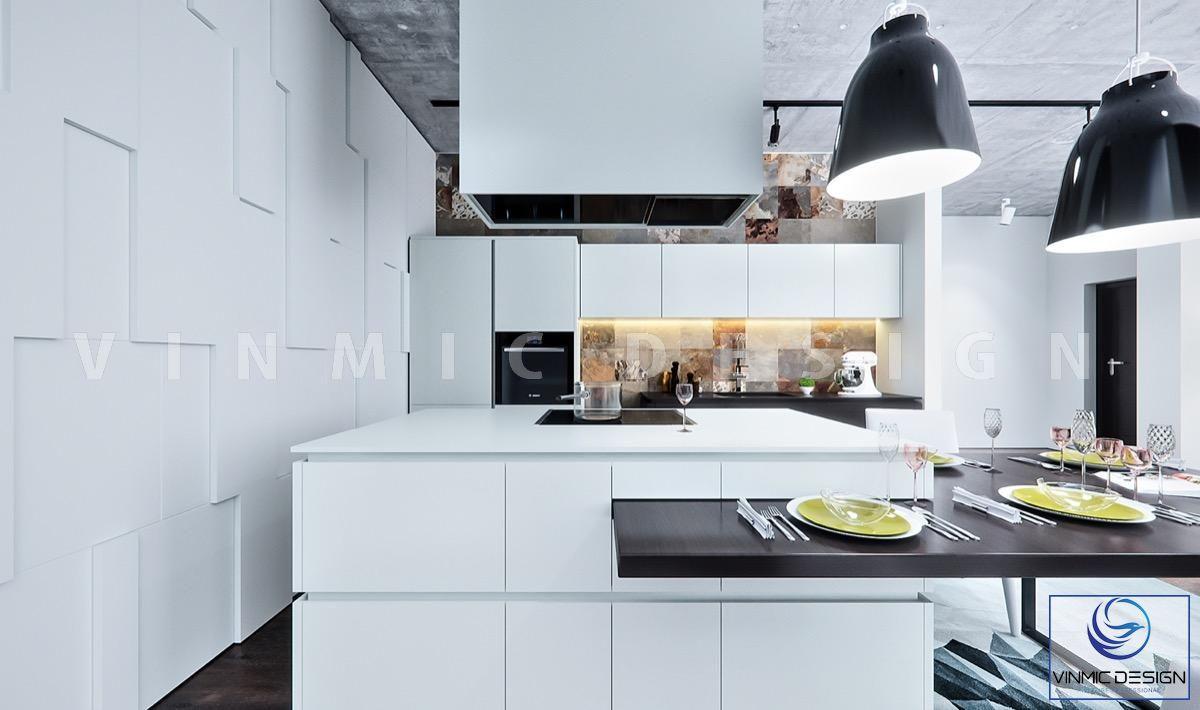 Không gian bếp sang trọng, đẹp mắt