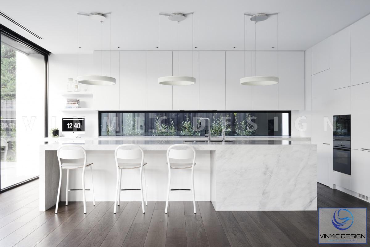 Thiết kế tủ bếp scandinavian mang đậm dấu ấn mới lạ