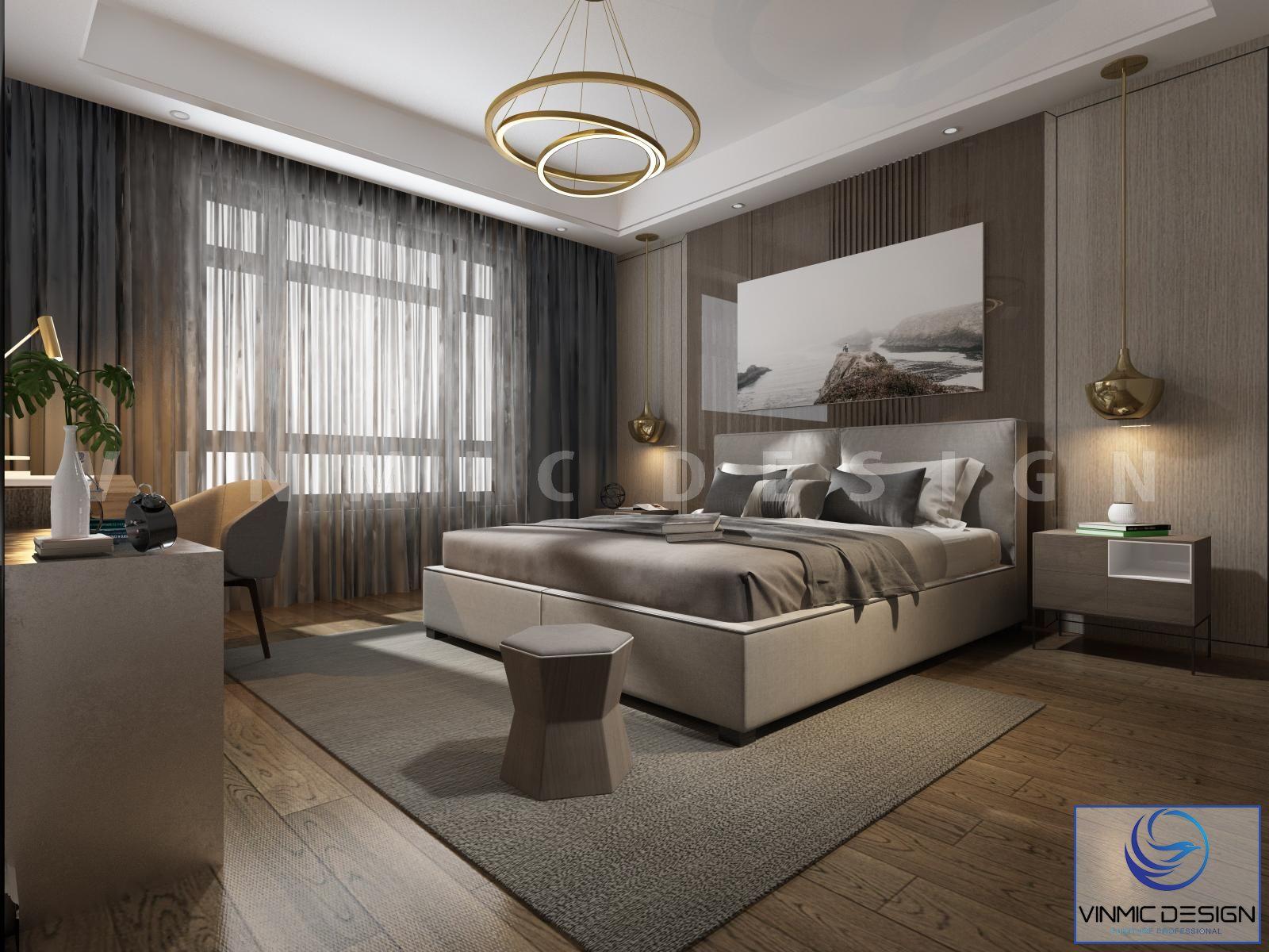 Bộ rèm ấn tượng cho thiết kế phòng ngủ