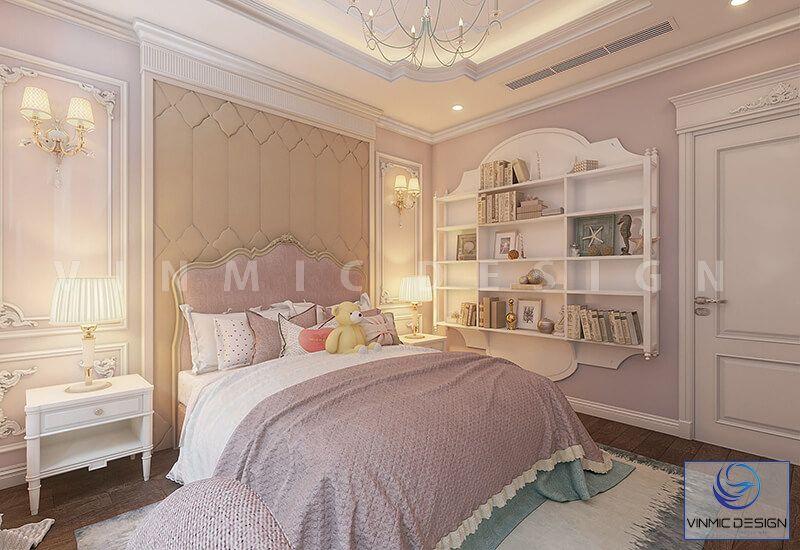 Phòng ngủ cho bé trông tươi mới