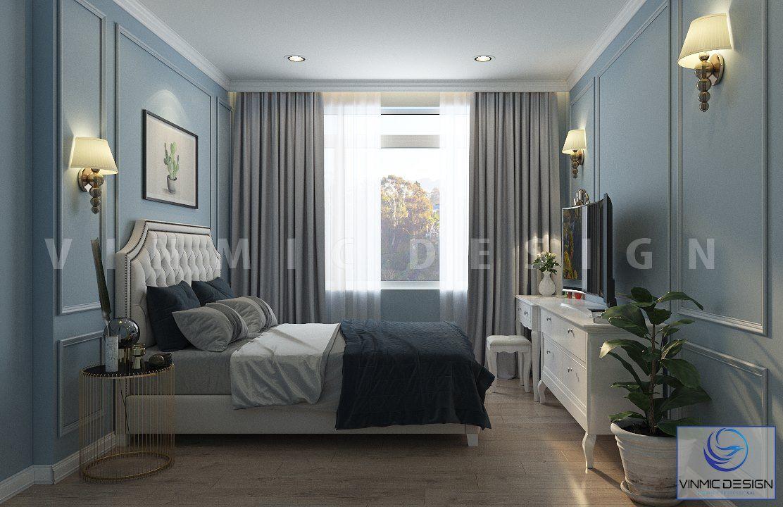 Thiết kế phòng ngủ chung cư, với sự tỉ mỉ của Vinmic