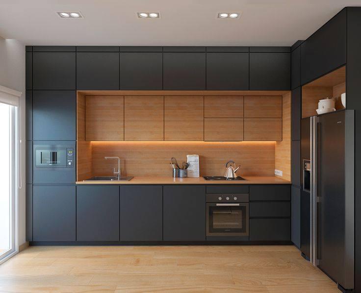 Phong cách hiện đại, dạng hình hộp của tủ bếp