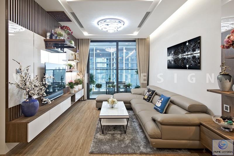 Bộ sofa nhập khẩu sang trọng, tôn lên được sự hiện đại của phòng khách