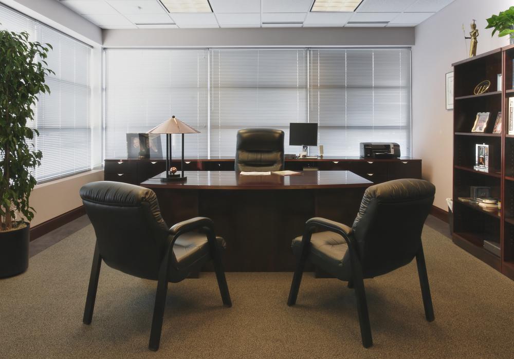 Không gian nhỏ và đầy tiện nghi của phòng giám đốc