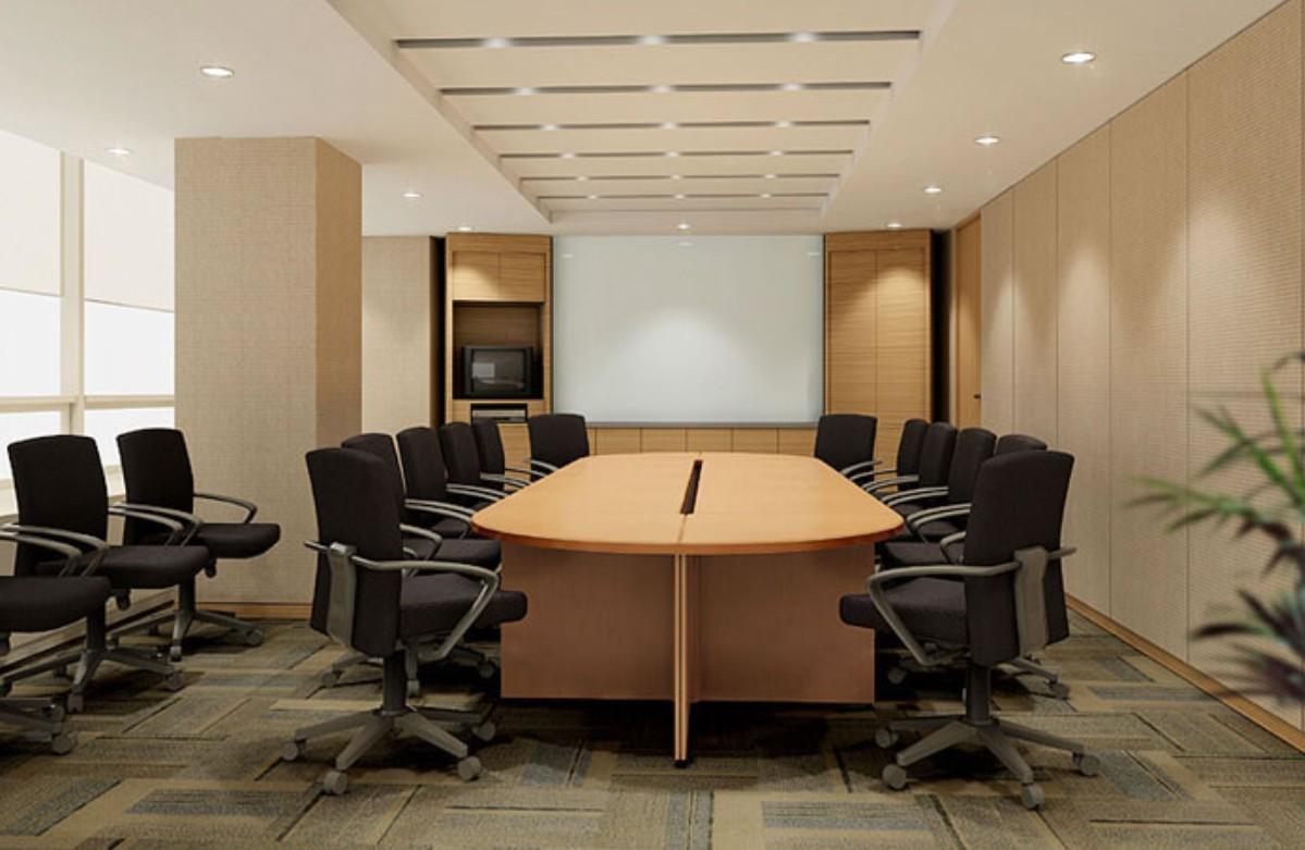 Cách bố trí sắp xếp tiện lợi của phòng họp