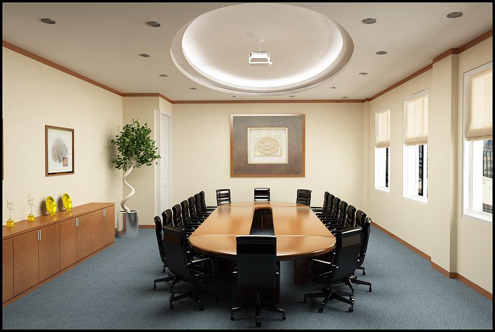 Thiết kế phòng họp diện tích nhỏ, đầy đủ công năng