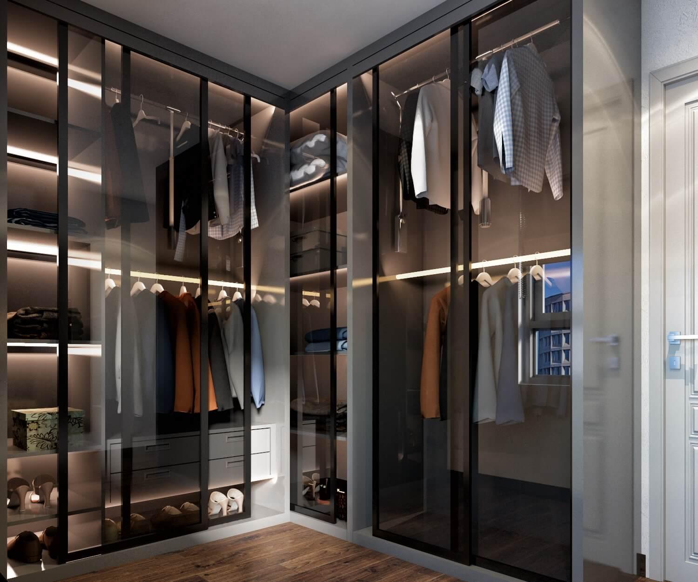 Phòng thay đồ được thiết kế riêng biệt