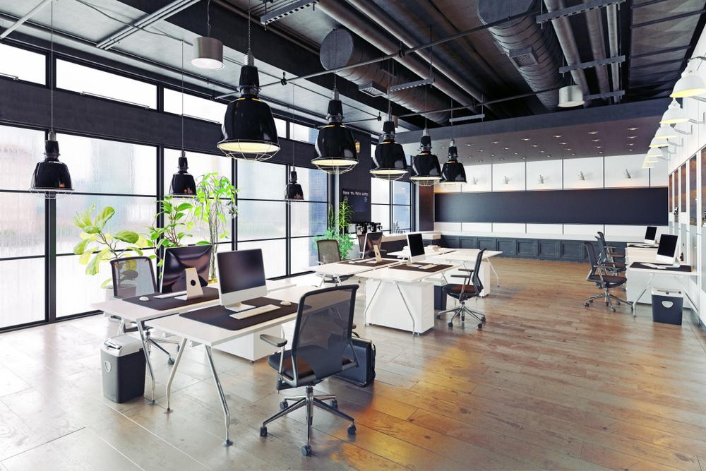 Văn phòng với thiết kế tận dụng hết công năng