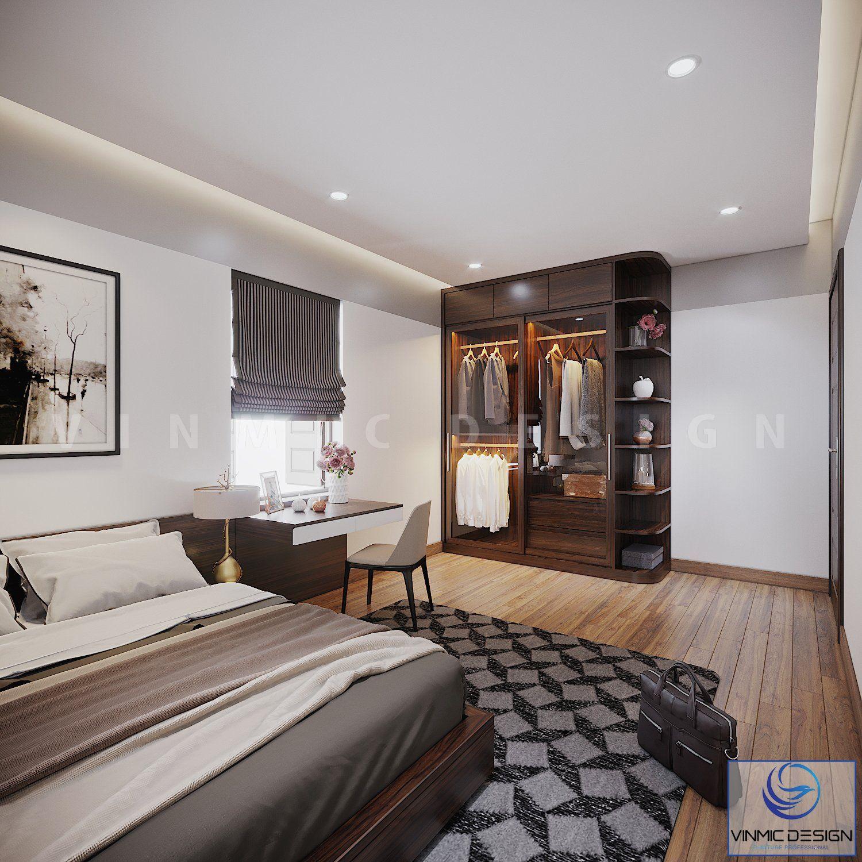 Tủ áo cánh kính đẹp mắt, tạo nên sự tiện lợi và ấn tượng cho phòng ngủ