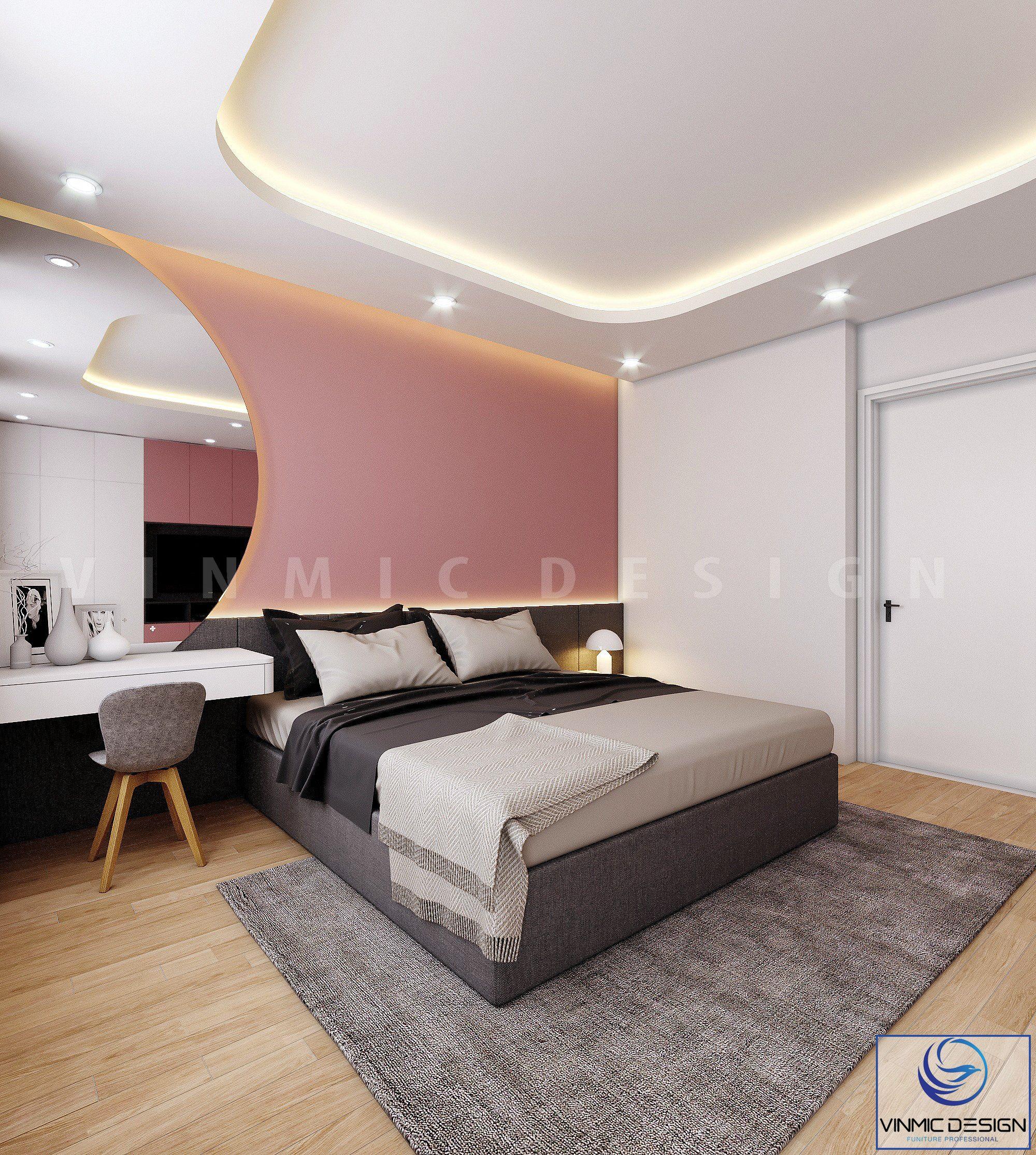 Thiết kế phòng ngủ này rất đơn giản