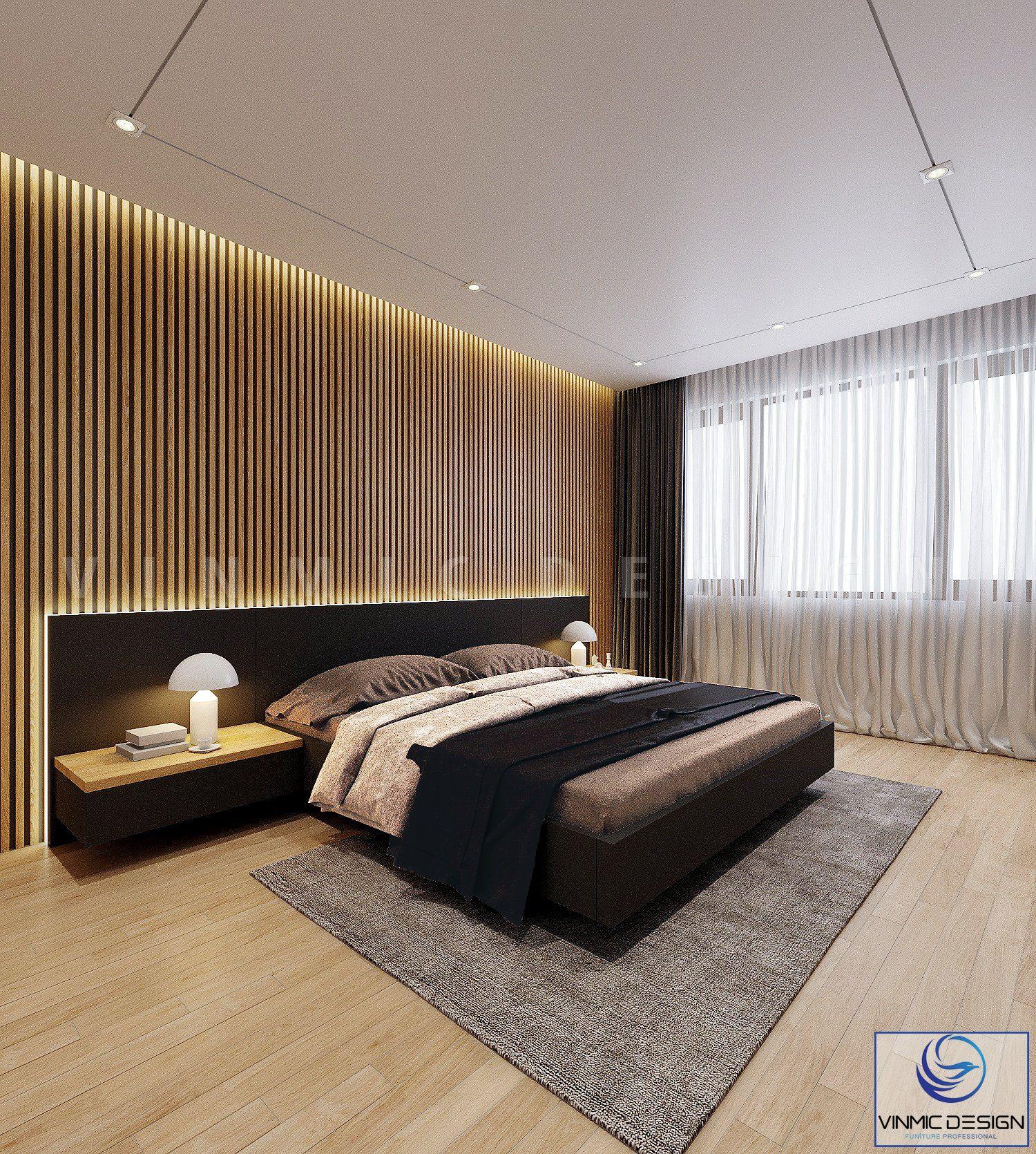 Thiêt kế phòng ngủ tận dụng ánh sáng từ thiên nhiên