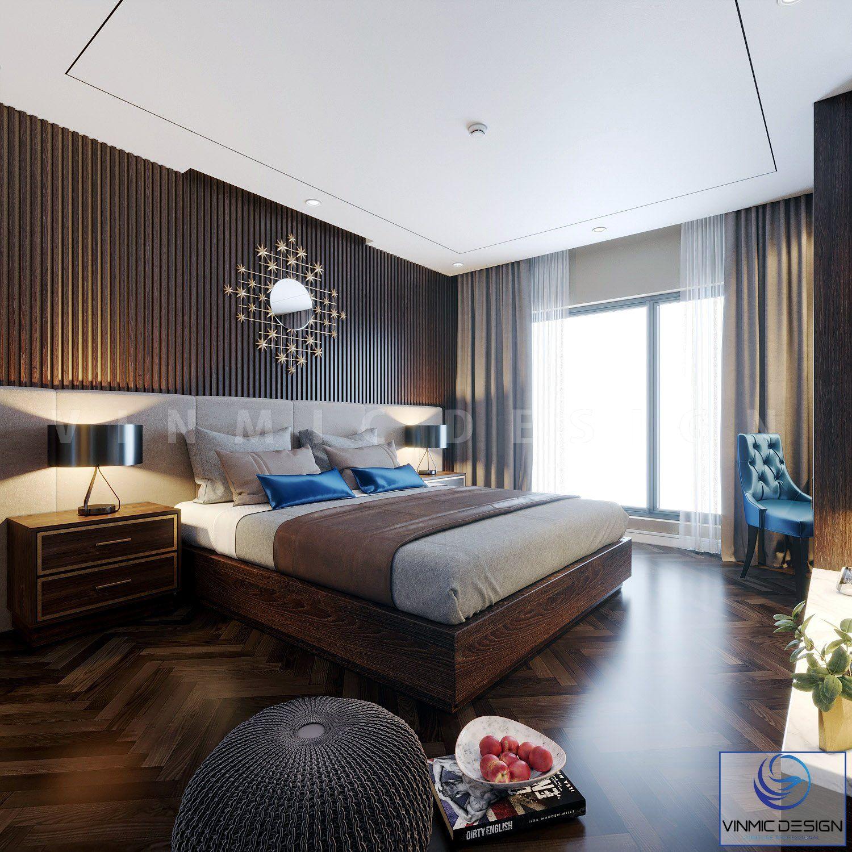Không gian phòng ngủ với đầy đủ công năng
