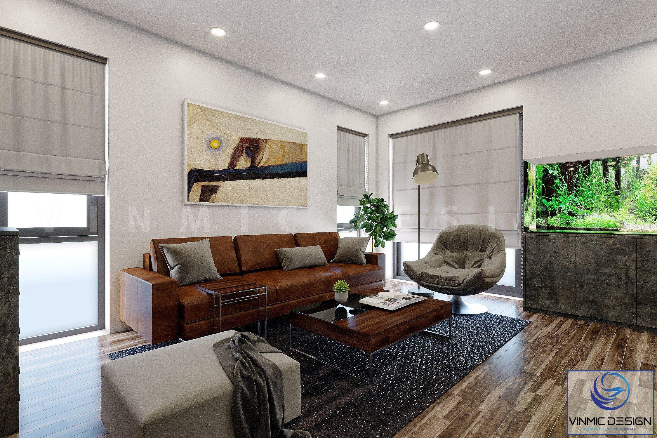 Bộ sofa tiếp khách trong phòng giám đốc đẳng cấp