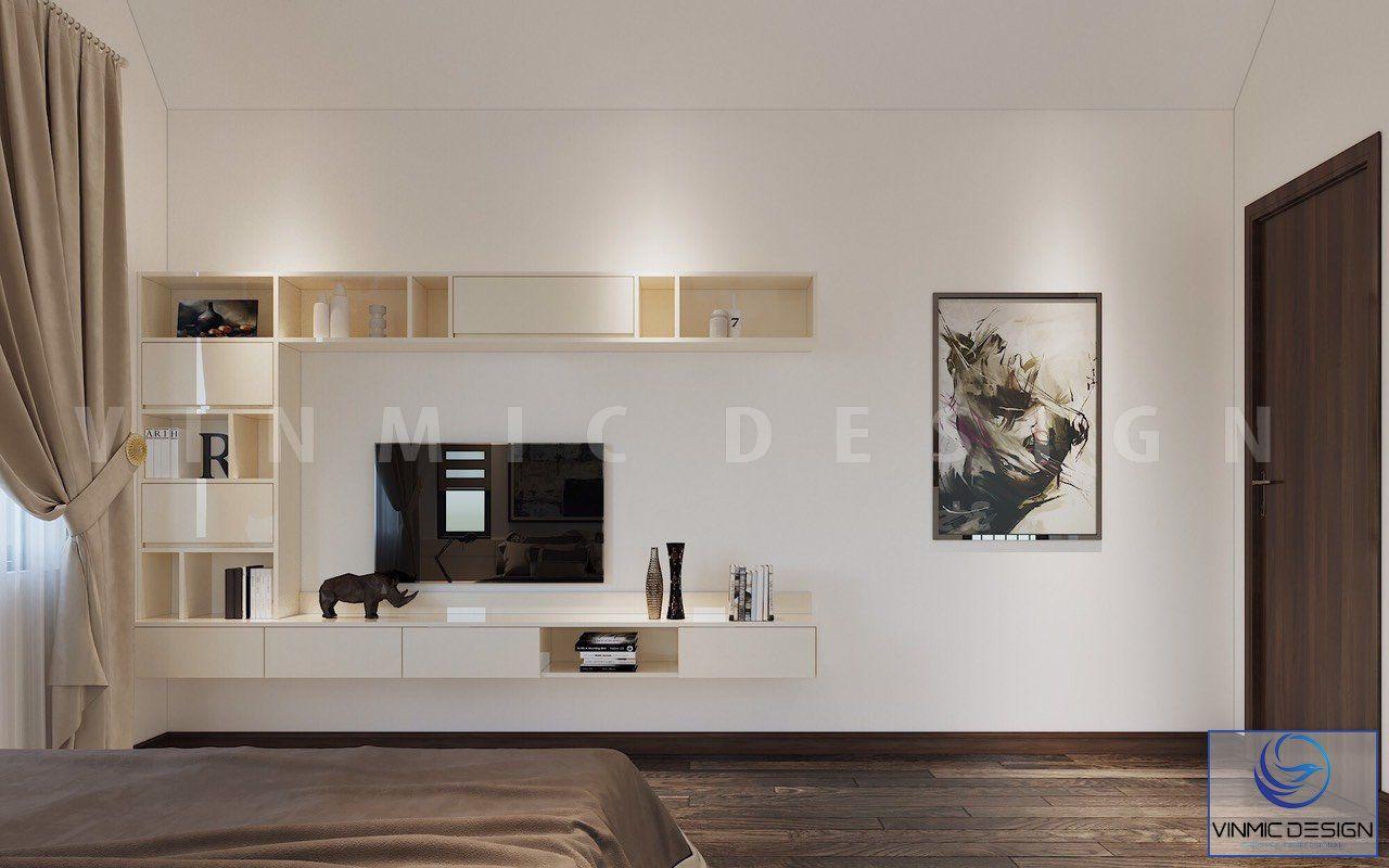 Chi tiết nội thất đơn giản cho căn phòng ngủ này
