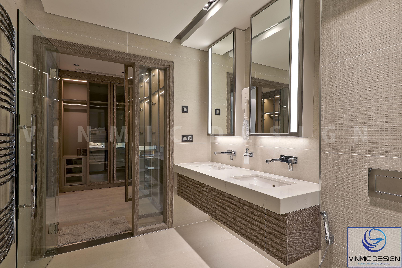 Nơi rửa cũng như lavabo thi công đơn giản và tiện lợi
