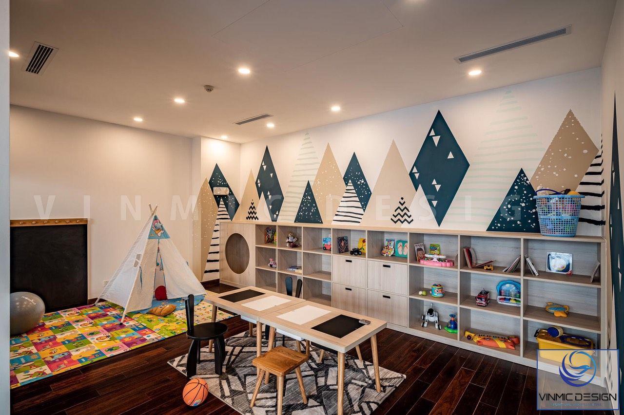 Nhà ở Penthouse sang trọng - đẳng cấp với khu vui chơi dành riêng cho các bé