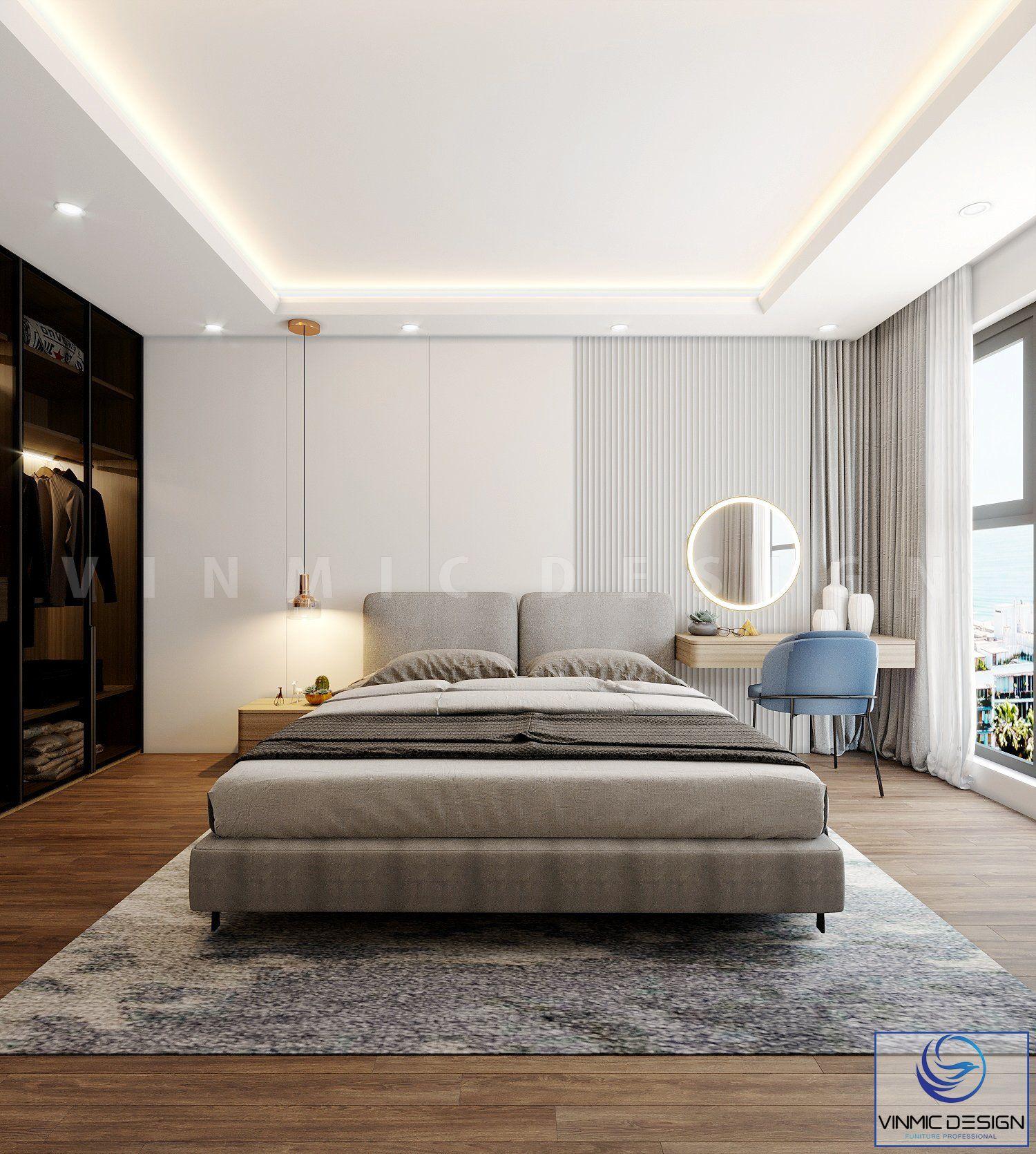 Không gian phòng ngủ tươi mới