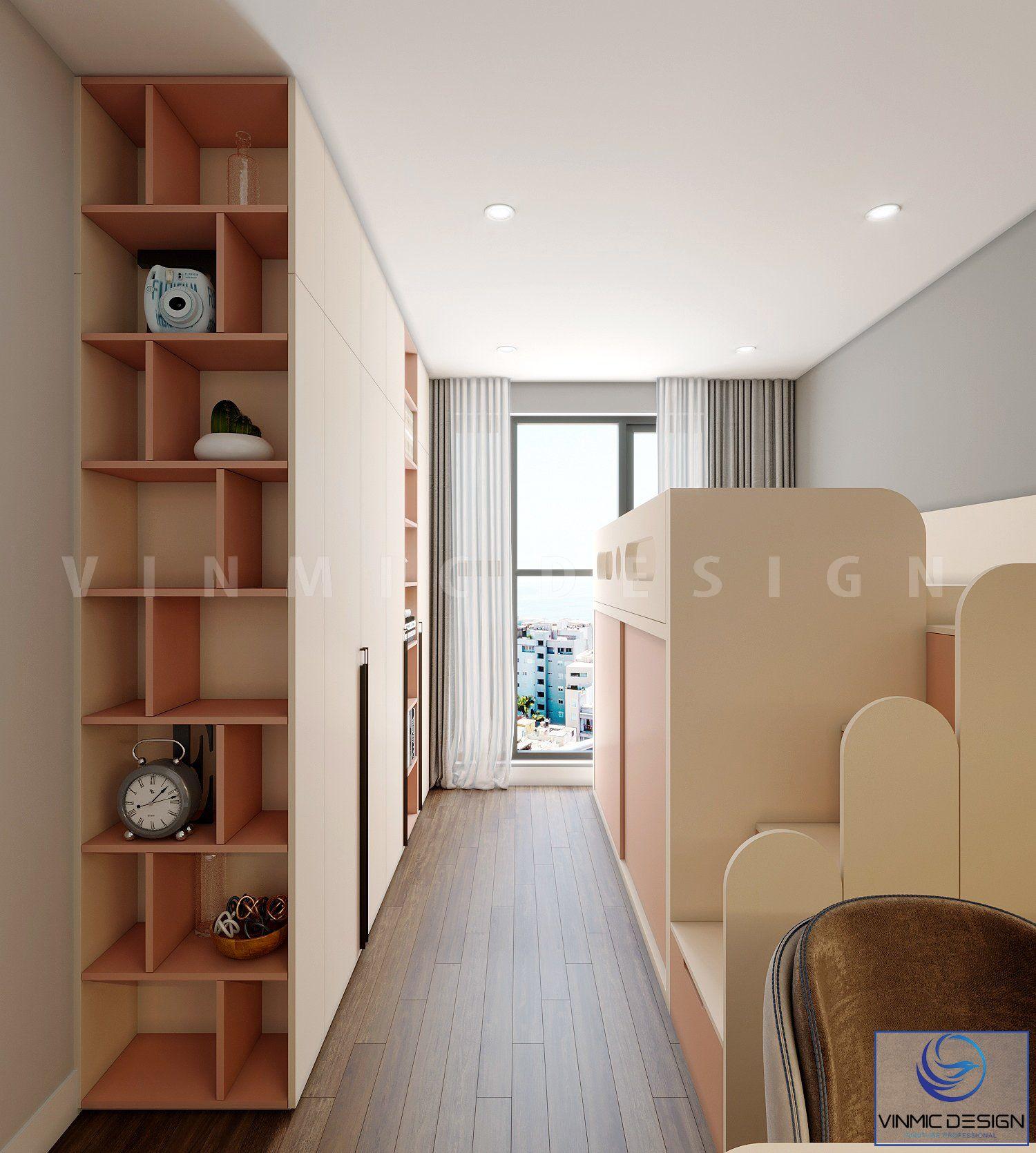 Thiết kế giường tầng cho bé thỏa sức sáng tạo