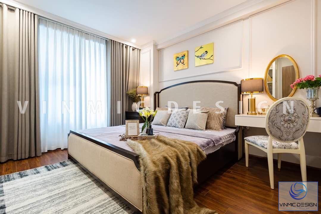 Thiết kế nội thất phòng ngủ biệt thự Vinhomes Star City