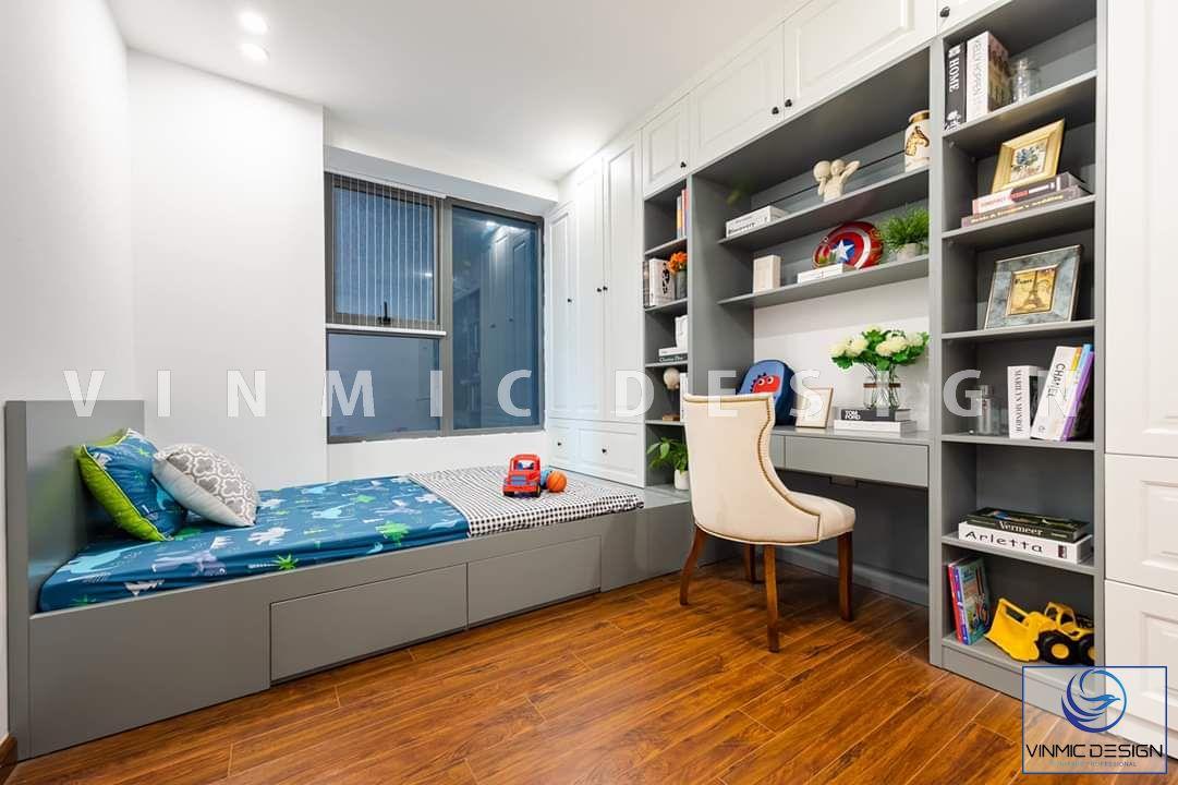 Phòng ngủ cho bé tại biệt thự Vinhomes Star City