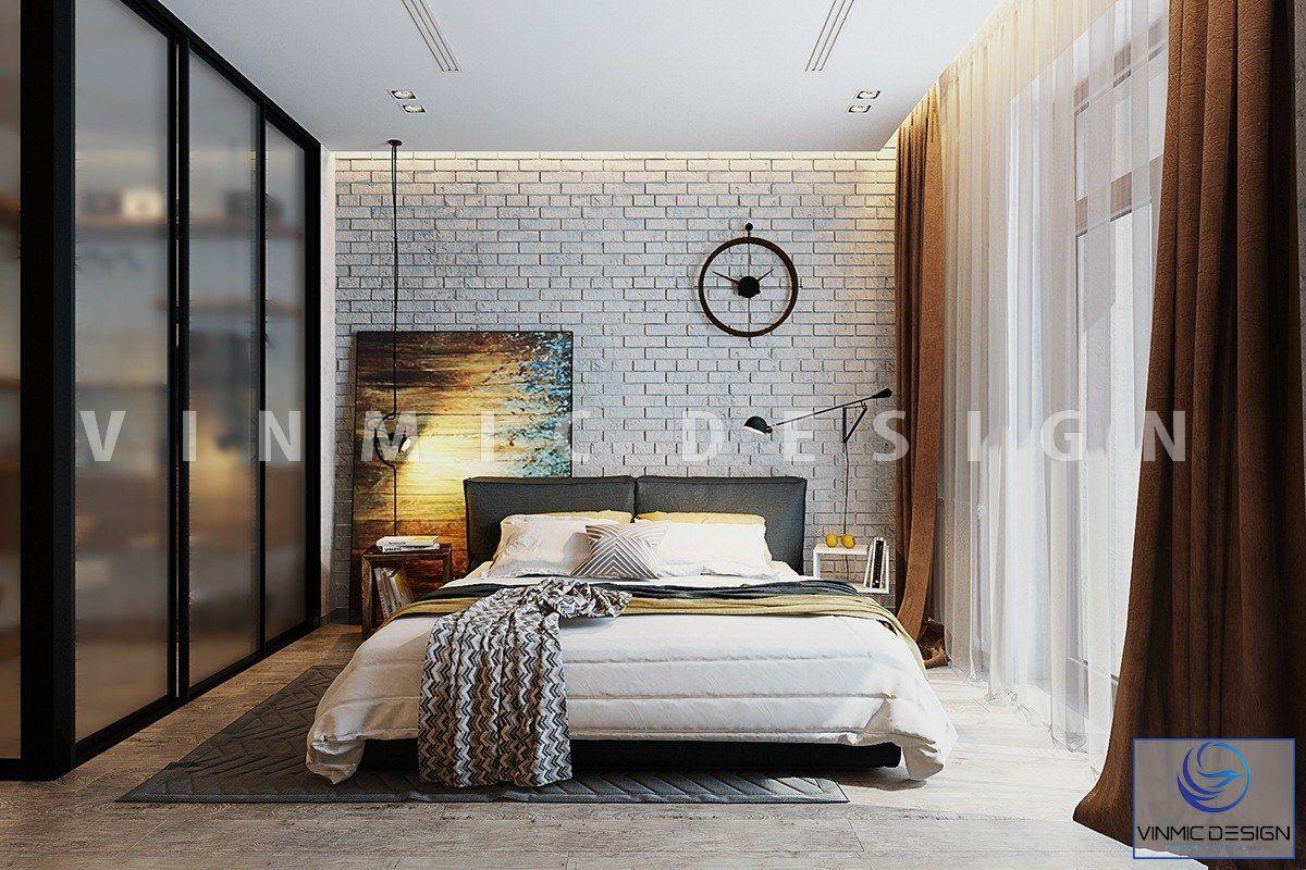 Thiết kế nội thất phòng ngủ cá tính
