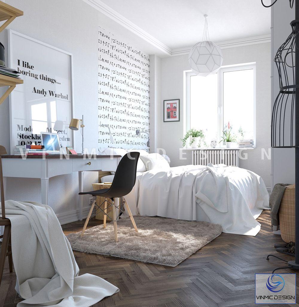 Thiết kế nội thất phong cách scandinavian, đúng như tên gọi