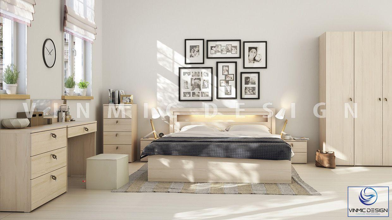 Thiết kế nội thất phòng ngủ phong cách scandinavian đẹp