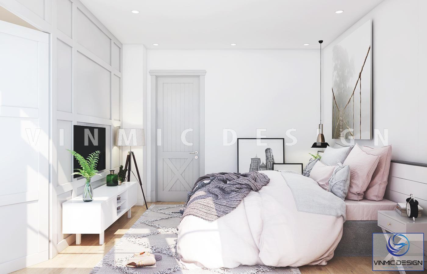 Góc khác của căn phòng, ta có thể thấy rõ đặc trưng của sự tối giản, đơn giản trong thiết kế và thiên hướng vào chức năng của nội thất hơn