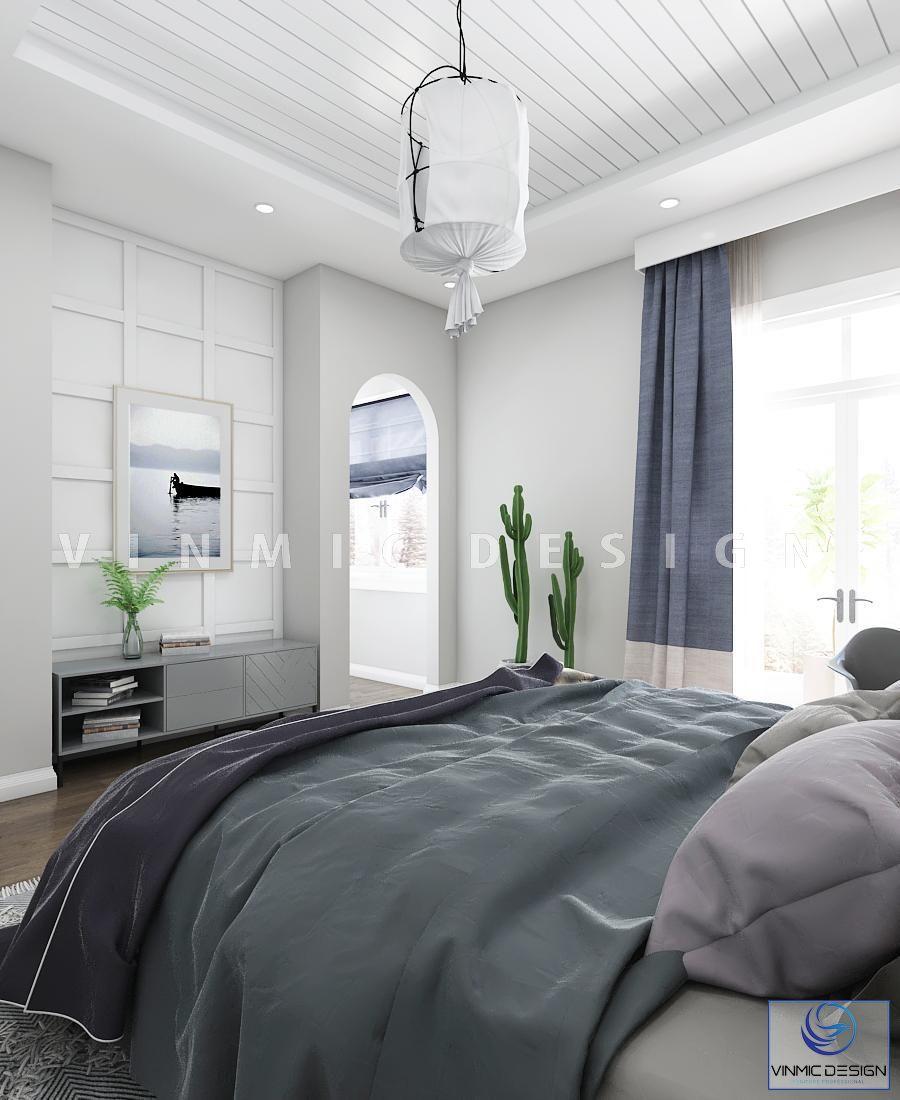 Một góc khác của căn phòng thiết kế phong cách scandinavian