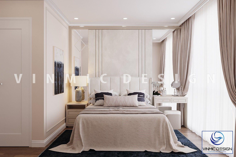 Thiết kế nội thất phong cách tân cổ điển trang nhã