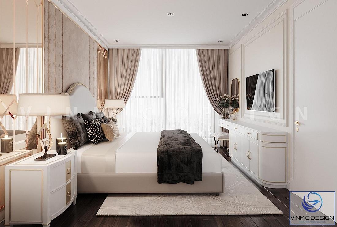 Một góc khác của mẫu Thiết kế nội thất phong cách tân cổ điển đẹp