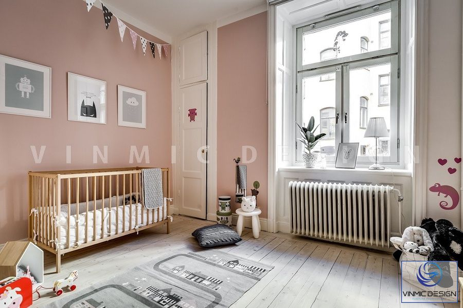 Phòng ngủ cho bé sơ sinh đẹp