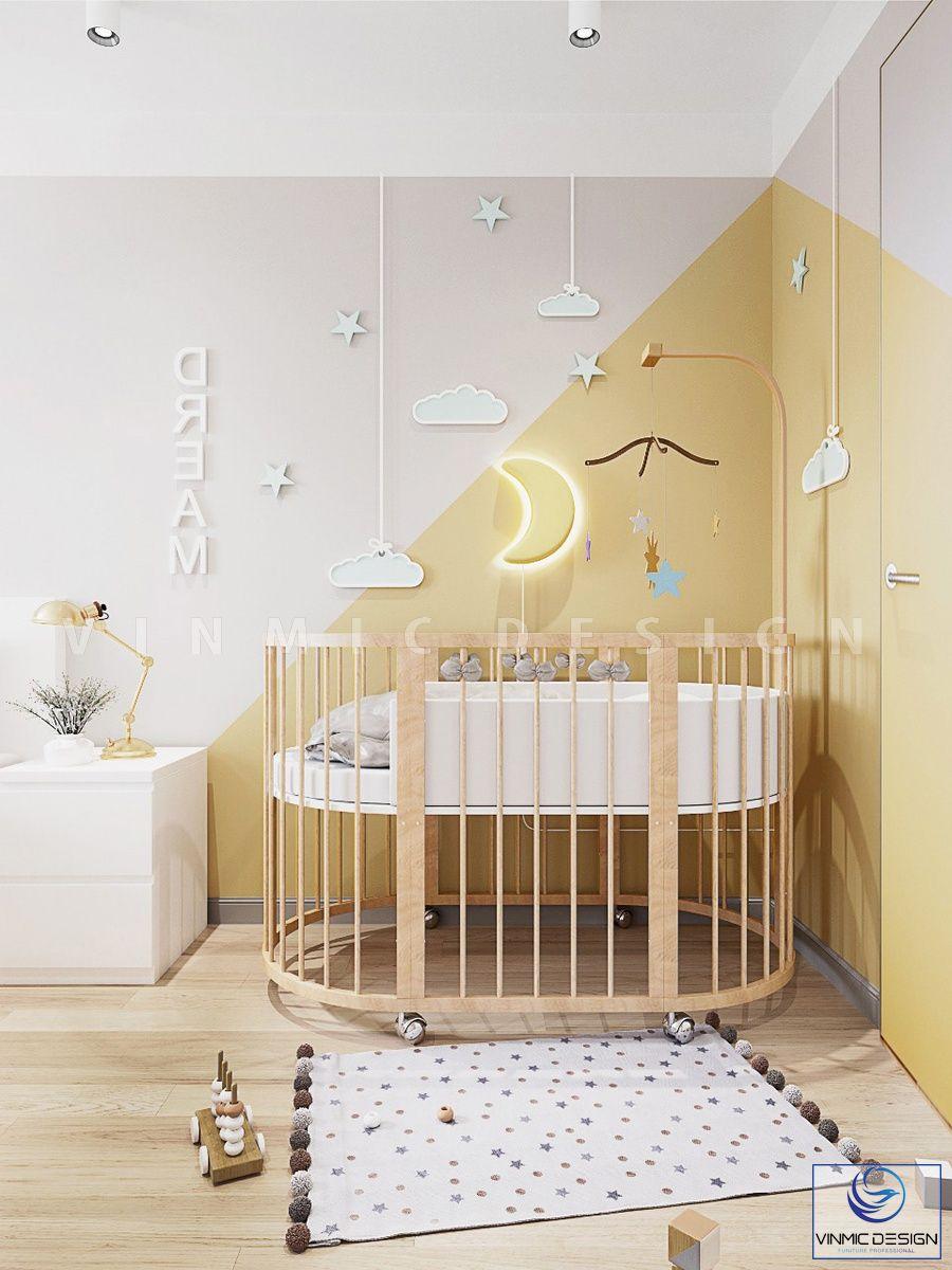 Dream - những giấc mơ của bé yêu được cha mẹ thể hiện trong phòng ngủ bé sơ sinh