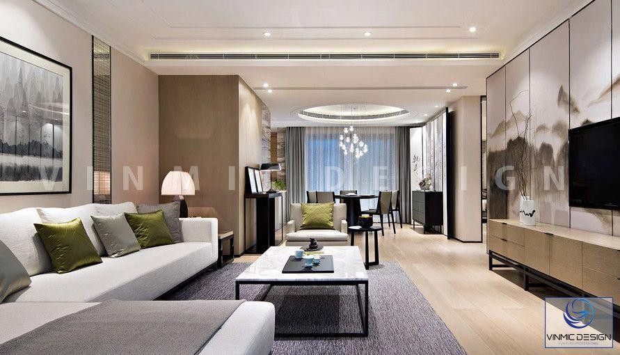 Phòng khách rộng hơn với lối thiết kế mở giúp căn hộ trở nên ấn tượng và mới mẻ hơn