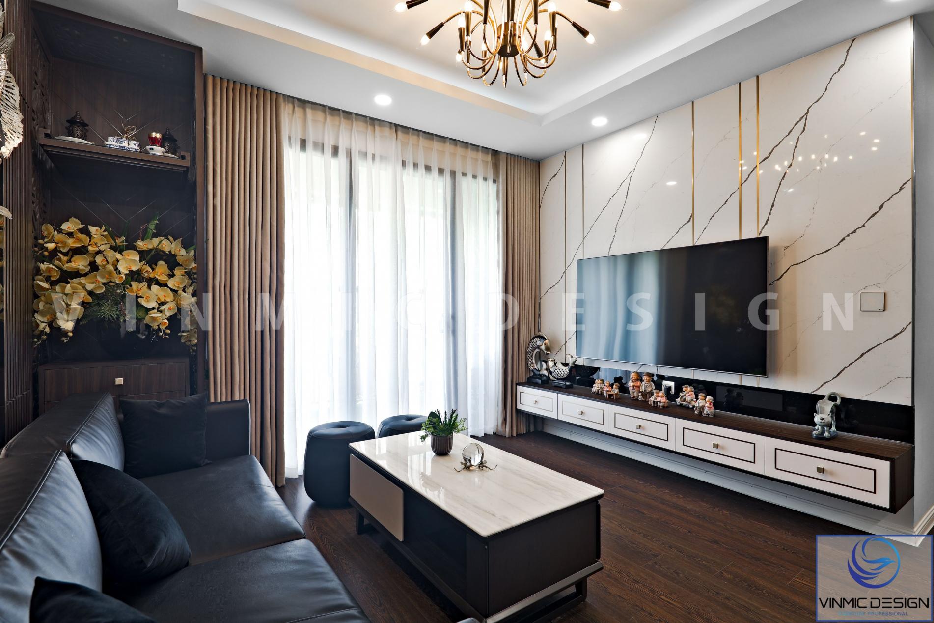 Thi công nội thất đẹp cho căn hộ tại Imperia Sky Garden