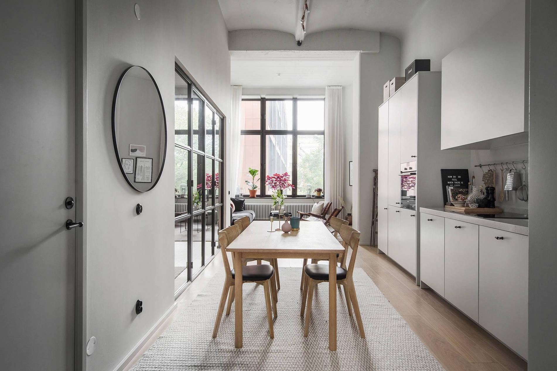 Thiết kế nội thất không gian bếp đơn giản, đẹp cho căn hộ chung cư 90m2