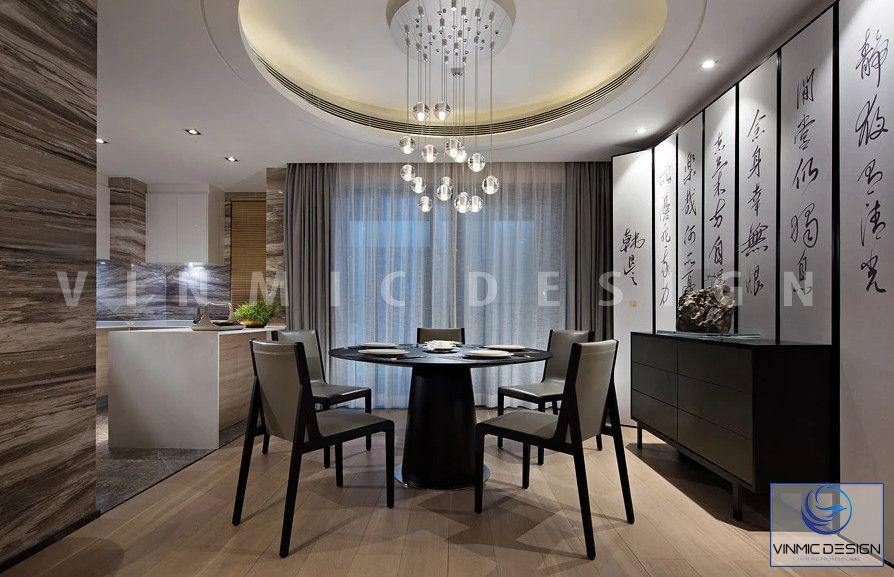 Phòng ăn đẹp tại chung cư Metropolis